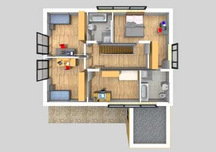 moderne h user architektur design ideen bilder homify. Black Bedroom Furniture Sets. Home Design Ideas
