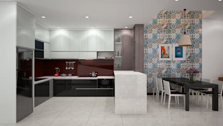 Kitchen units by DCOR