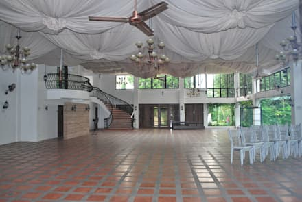 Event venues by Ar. Kristoffer D. Aquino