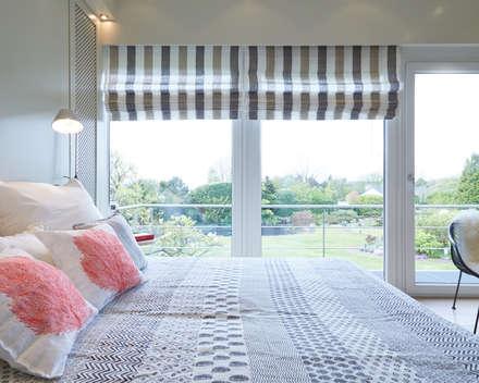 Exponierte Unternehmervilla in Bestlage - Ruhen: klassische Schlafzimmer von Tschangizian Home Staging & Redesign