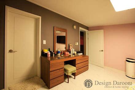 rustic Media room by Design Daroom 디자인다룸