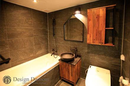 암사동 한강포스파크 아파트 거실욕실: Design Daroom 디자인다룸의  화장실