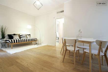 Home Staging Roma - CHome Nuova: Sala da pranzo in stile in stile Scandinavo di cHome Nuova