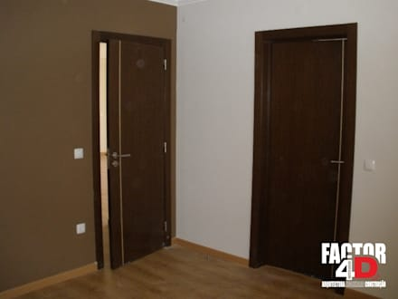 Interior#004: Portas  por Factor4D - Arquitetura, Engenharia & Construção