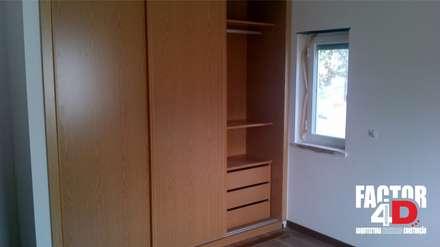 Interior#003: Closets clássicos por Factor4D - Arquitetura, Engenharia & Construção