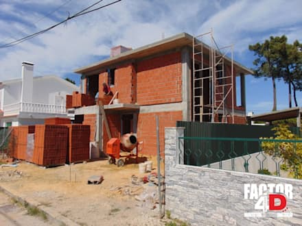Exterior#004: Moradias  por Factor4D - Arquitetura, Engenharia & Construção