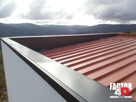 Exterior#008: Telhados  por Factor4D - Arquitetura, Engenharia & Construção