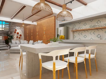 Kitchen units by TREVISO Studio Arquitetura e Interiores