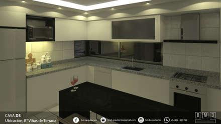 COCINA: Muebles de cocinas de estilo  por BM3 Arquitectos