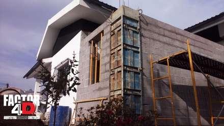 Exterior#007: Moradias  por Factor4D - Arquitetura, Engenharia & Construção