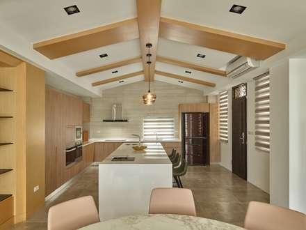 Nhà bếp by 澤序空間設計有限公司