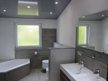 Mehrfamilienhaus Bad Rappenau: Moderne Badezimmer Von BV Design U0026 Bau