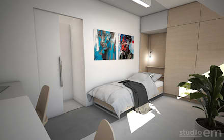 Minimalistisch Interieur Serre : Minimalistische slaapkamer ideeën homify
