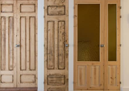 Wooden doors by La Proyectual