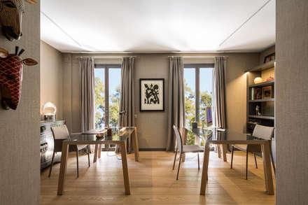 Oficinas de estilo colonial por Meritxell Ribé - The Room Studio