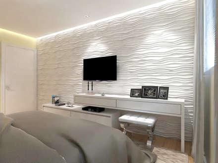 Tường by TREVISO Studio Arquitetura e Interiores