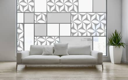 Claraboyas de estilo  por Shiny Glass Tiles