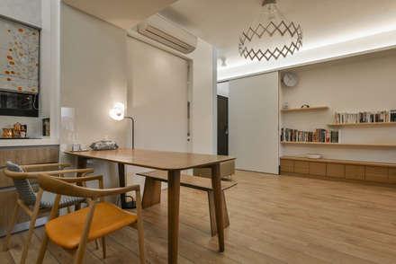 燈是重點:  餐廳 by 王采元工作室