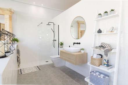 Baño de AR Home: Baños de estilo escandinavo de Become a Home