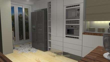 cocina: Módulos de cocina de estilo  de proyectoszeza