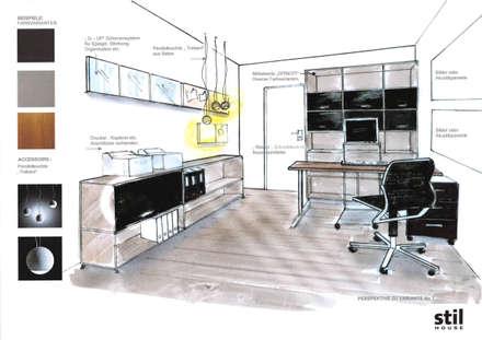 Büroplanung:  Bürogebäude von Stil House Innenausbau GmbH