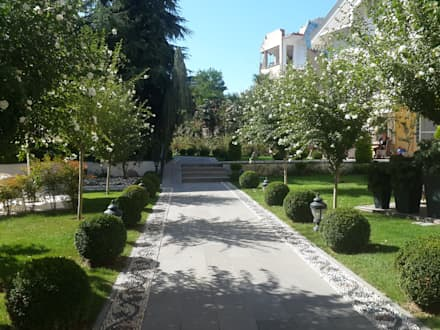 modernist peyzaj – 3: akdeniz tarzı tarz Bahçe