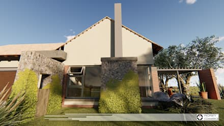 House Snyman: country Houses by Property Commerce Architects