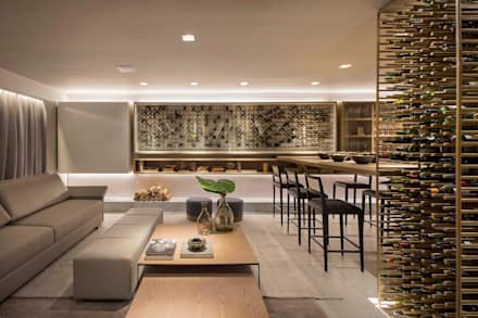 modern Wine cellar by Traama Arquitetura e Design