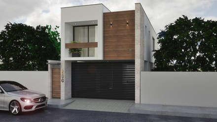 منزل عائلي صغير تنفيذ A. C. Arquitectura y diseño