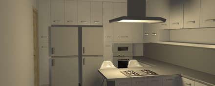 Cocina Moderna: Cocinas de estilo minimalista por Minimalistika.com
