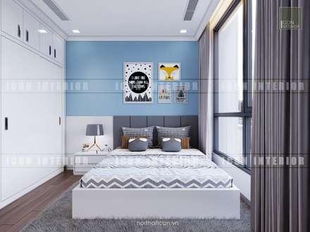 Thiết kế nội thất cao cấp dành cho căn hộ Vinhomes Central Park:  Phòng trẻ em by ICON INTERIOR