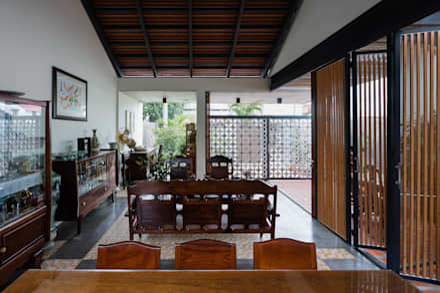 Salas / recibidores de estilo asiático por AD+