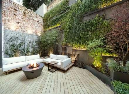 Boyman Arslan Architects – Teşvikiye Ev: modern tarz Bahçe