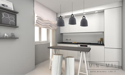 Built-in kitchens by MINIMAL di Casini Roberta