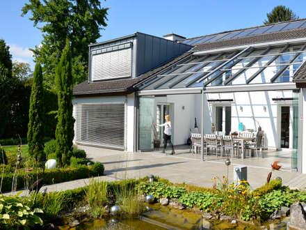 Immer eine angenehme Temperatur:  Terrasse von Solarlux GmbH
