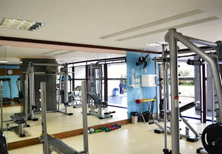 modern Gym by Joana Rezende Arquitetura e Arte
