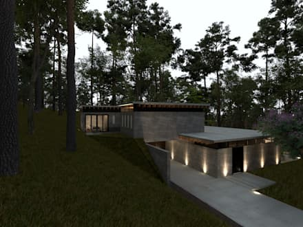 منزل ريفي تنفيذ JSM Arquitectos