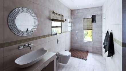 Bathroom: modern Bathroom by 7Storeys