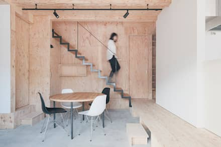 階段: 一級建築士事務所 Atelier Casaが手掛けた階段です。