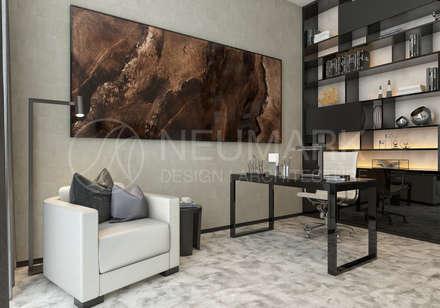 River Side Apartment. Апартаменты в River Side.: Рабочие кабинеты в . Автор – NEUMARK