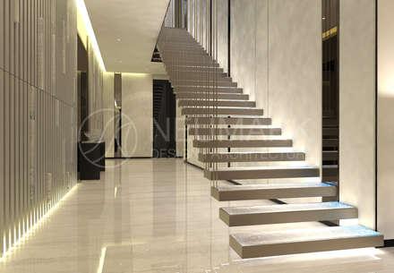 House in Barvikha. Дом в Барвихе.: Лестницы в . Автор – NEUMARK