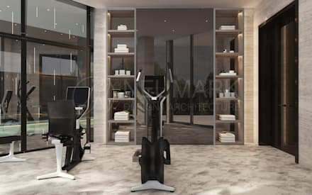 minimalistic Gym by NEUMARK