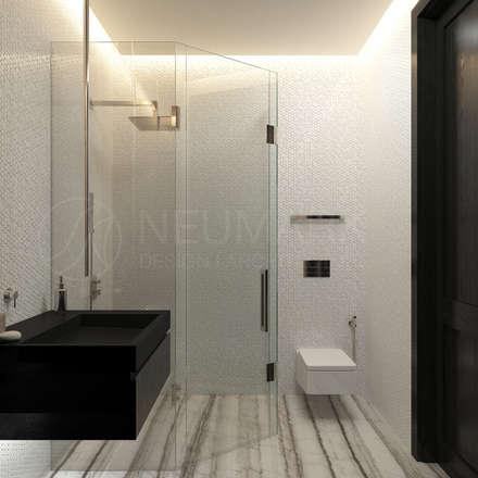 Union Park Apartment. Апартаменты в Union Park.: Ванные комнаты в . Автор – Марина Анисович, студия NEUMARK