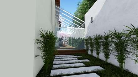Сад камней в . Автор – Vida Arquitectura