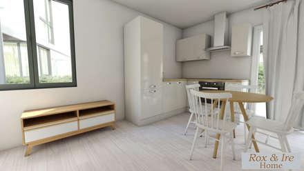 Muebles de cocinas de estilo  por ROX & IRE IBIZA SL
