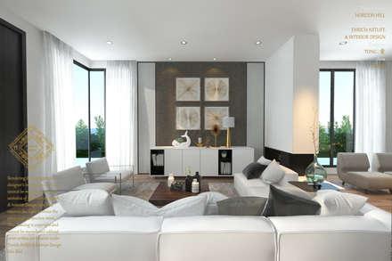 Moderne wohnzimmer von enrich artlife interior design sdn bhd