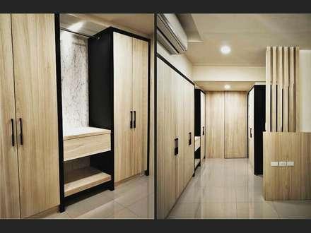 Closets de estilo escandinavo por 喬克諾空間設計