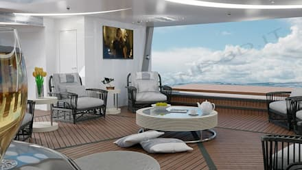 modern Yachts & jets by Modellazione-3d.it