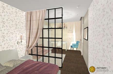 Kamar tidur anak perempuan by ARTWAY центр профессиональных дизайнеров и строителей