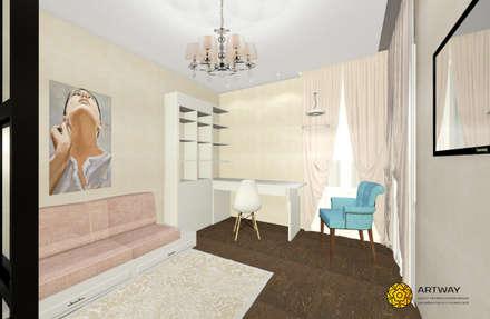Girls Bedroom by ARTWAY центр профессиональных дизайнеров и строителей